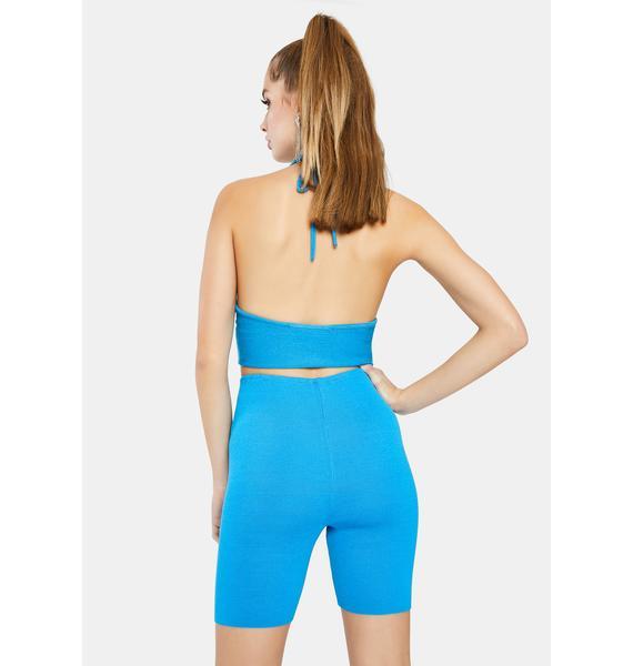 Lioness Heatwave Knit Biker Shorts