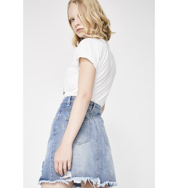Twiin Instant Denim Skirt