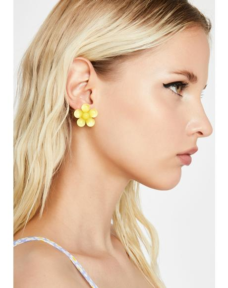 Brighter Daze Flower Earrings