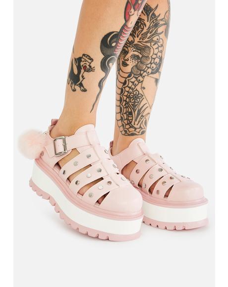 Nyoka Pastel Sandals