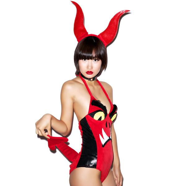 J Valentine Little Devil Costume