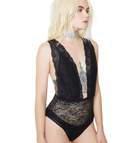 One Bad Broad Sheer Bodysuit