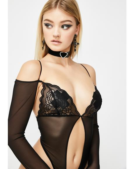 Dreamy Delirium Sheer Bodysuit