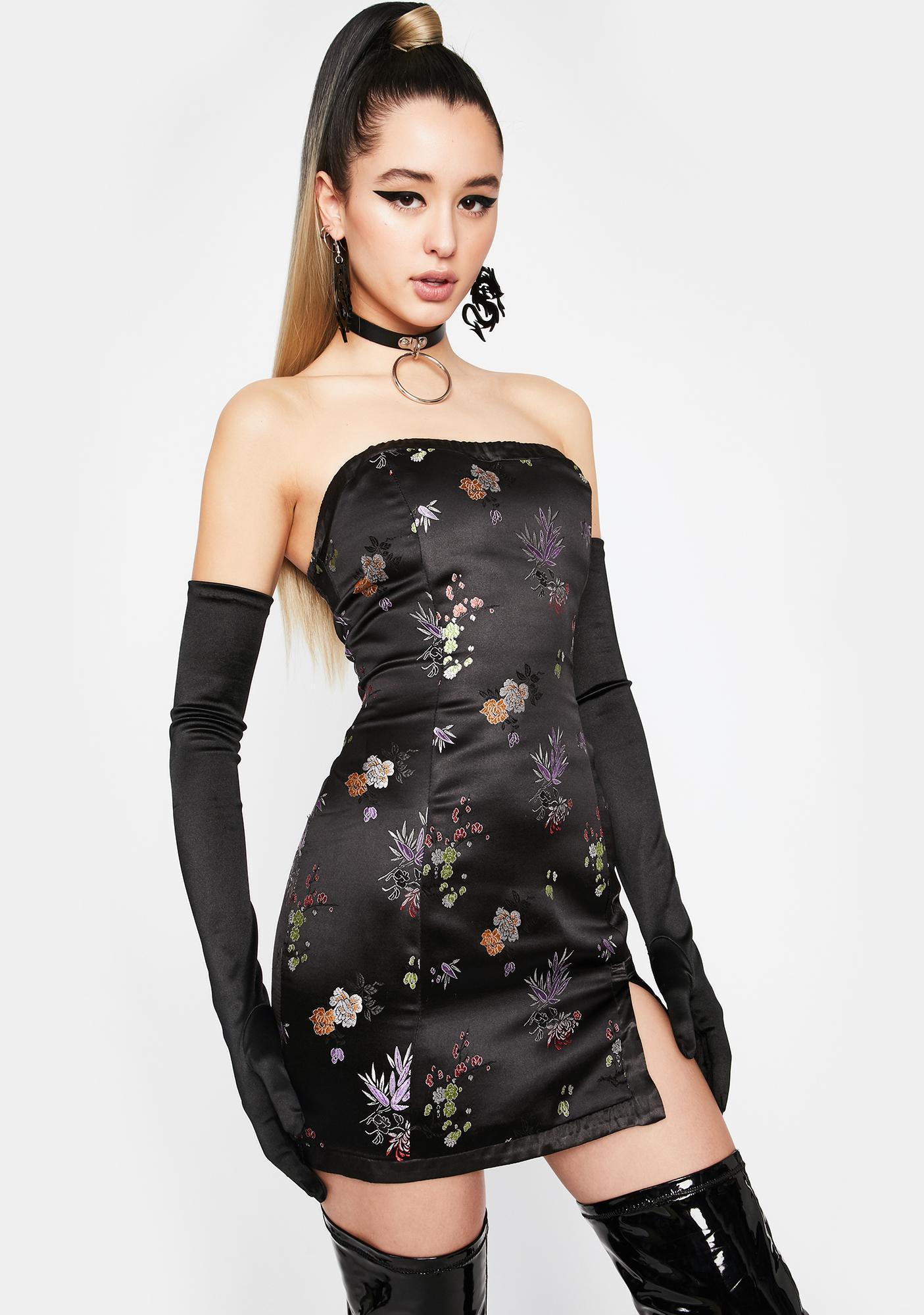 Charm City Brocade Dress