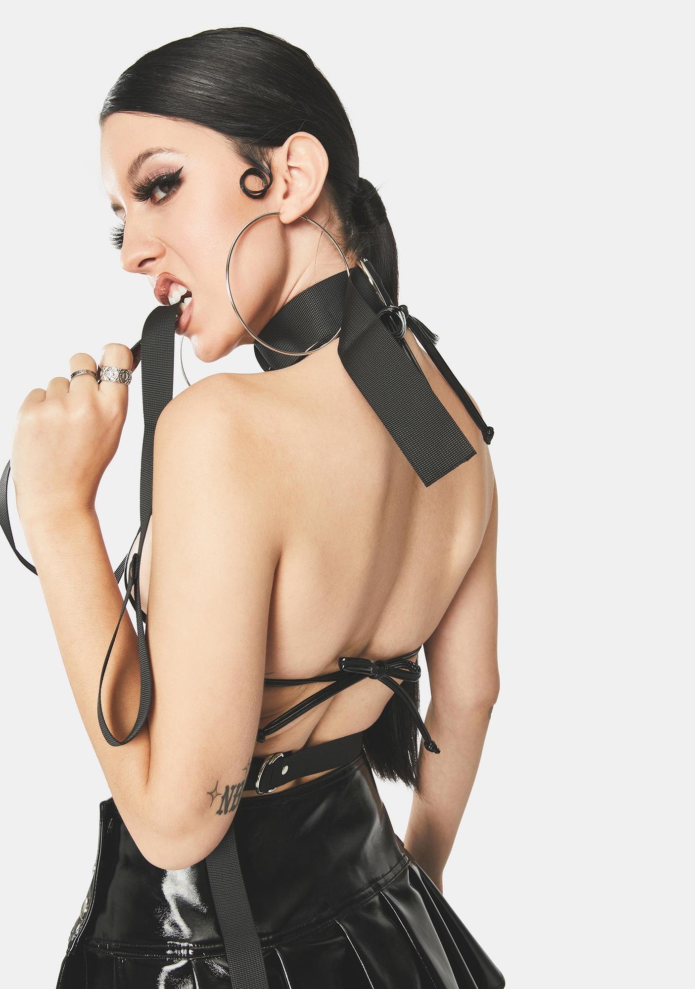 Buckled Baddie Strappy Harness