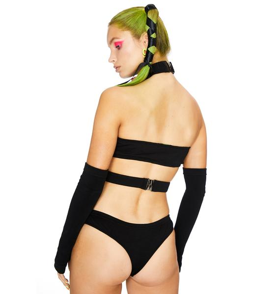 Club Exx Freak The Beat Strappy Tube Top