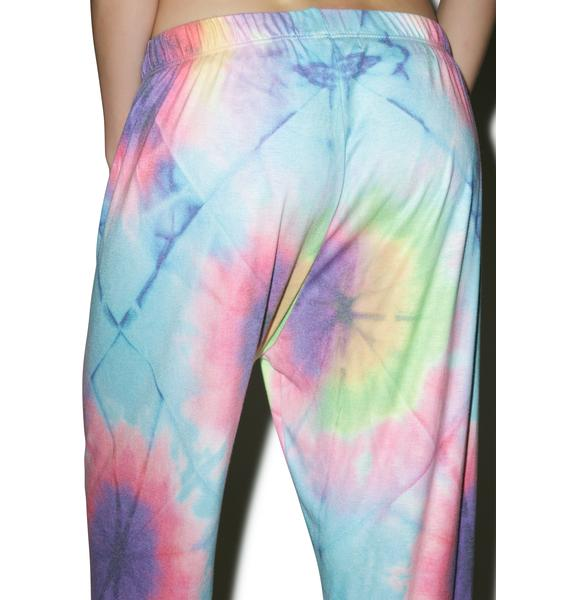 Wildfox Couture Unicorn Dye Easy Sweats