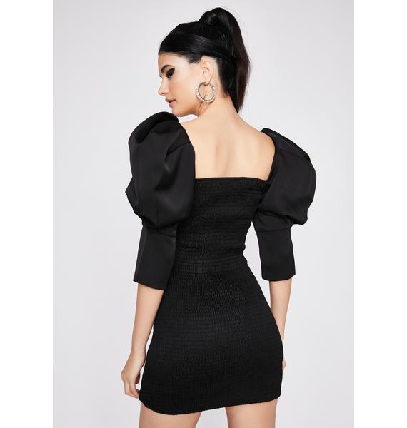 Dark Grand Glam Bodycon Dress