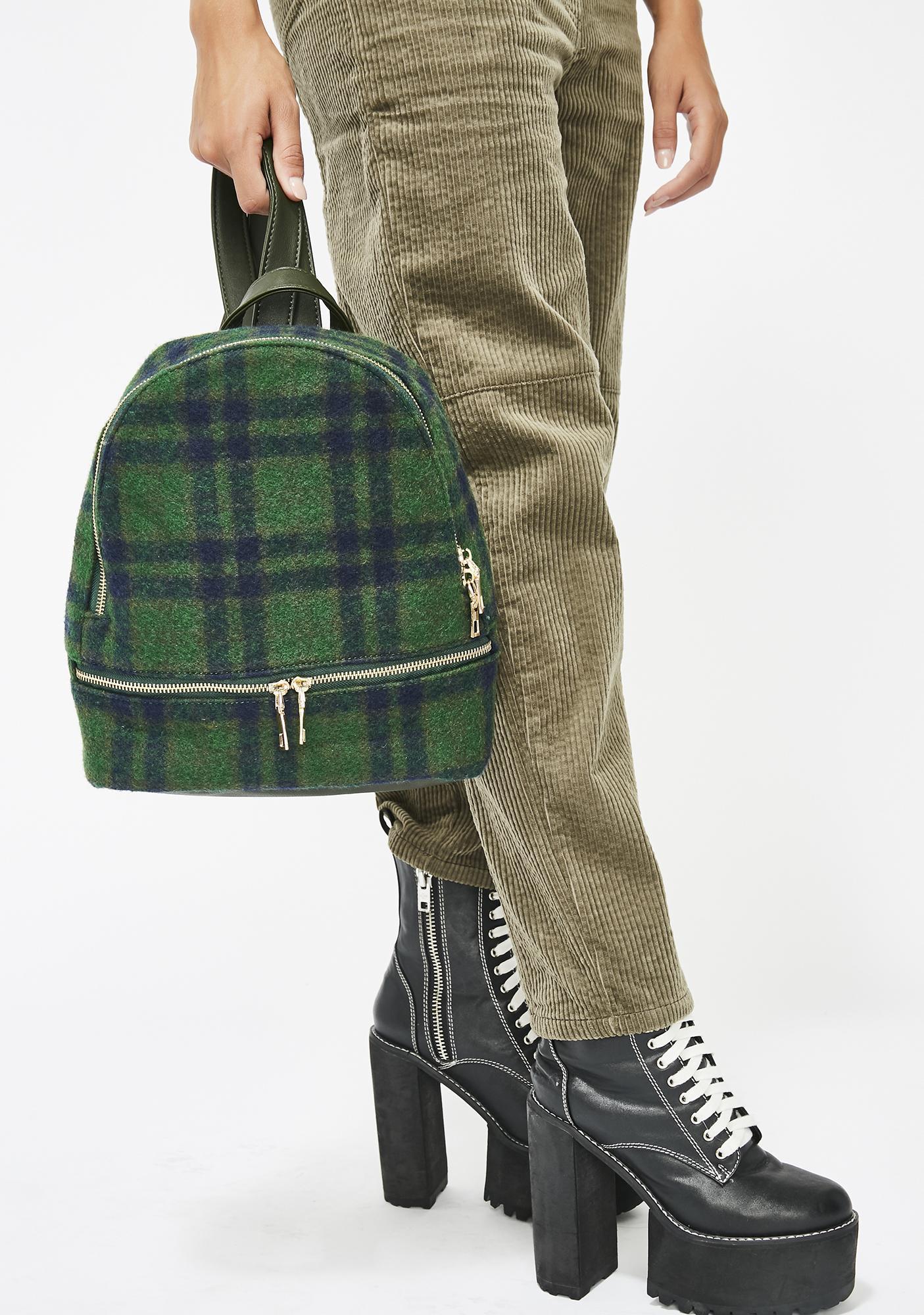 ... Schoolgirl Q Plaid Backpack e9ca78c213ff3