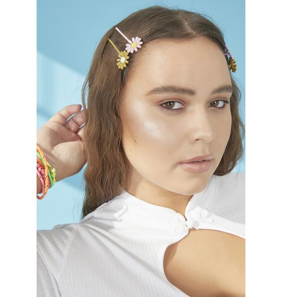 Daisy Me Rollin Hair Clips