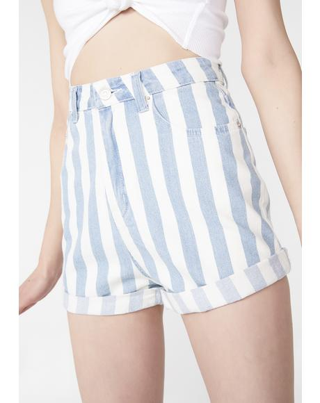 In Effect Stripe Shorts