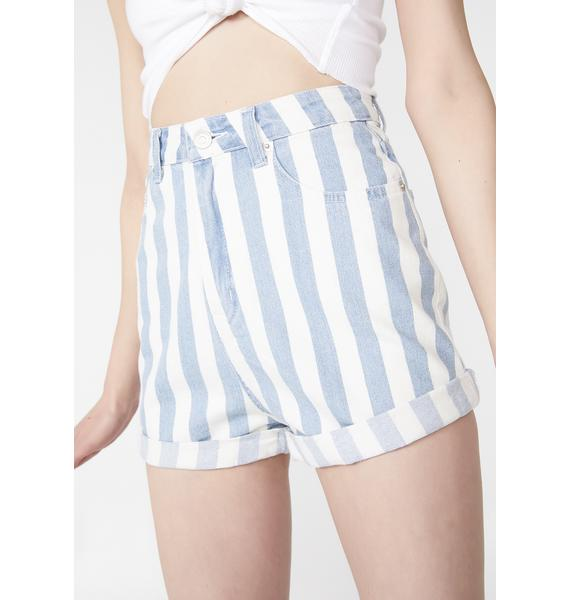 In Effect Stripe Shorts