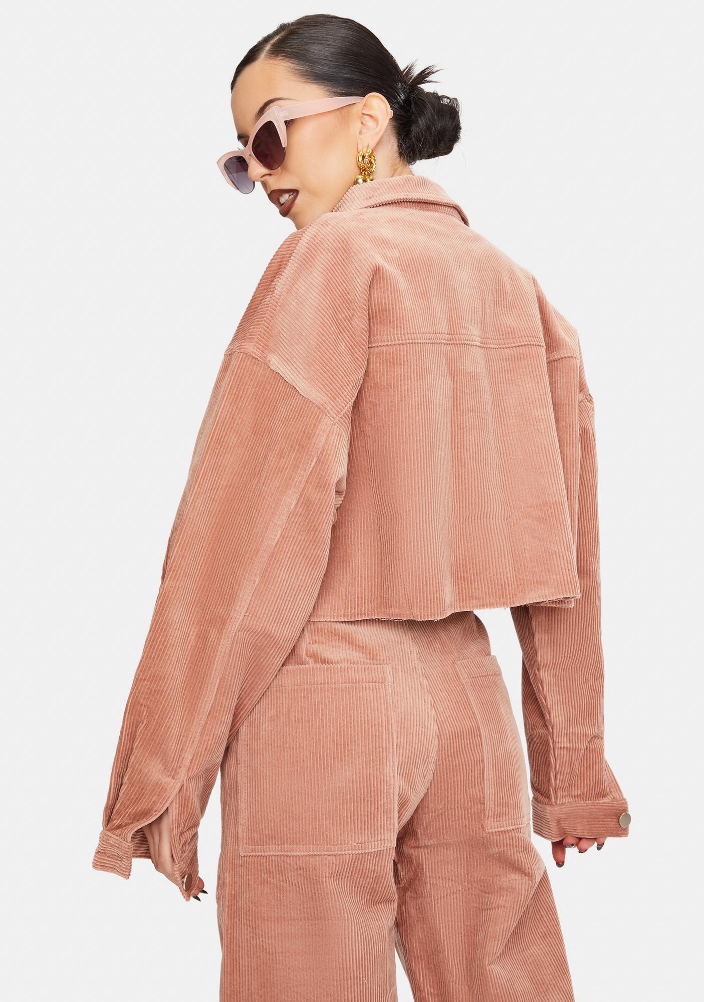 THE KRIPT Brick Harriet Corduroy Jacket