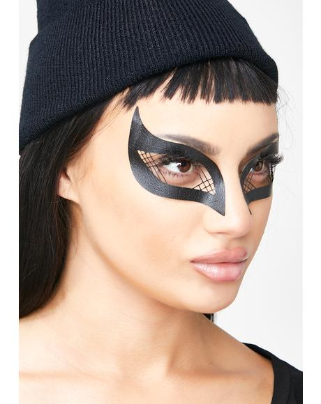 Lattice Wings Face Mask