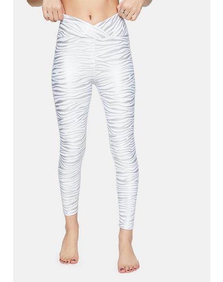 Tiger Foil Veronica Leggings