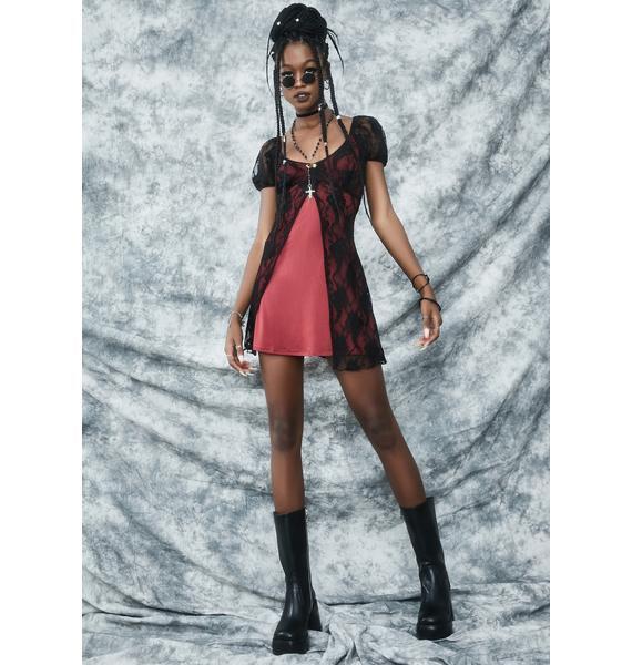 dELiA*s by Dolls Kill Hexes Before Homework Mini Dress