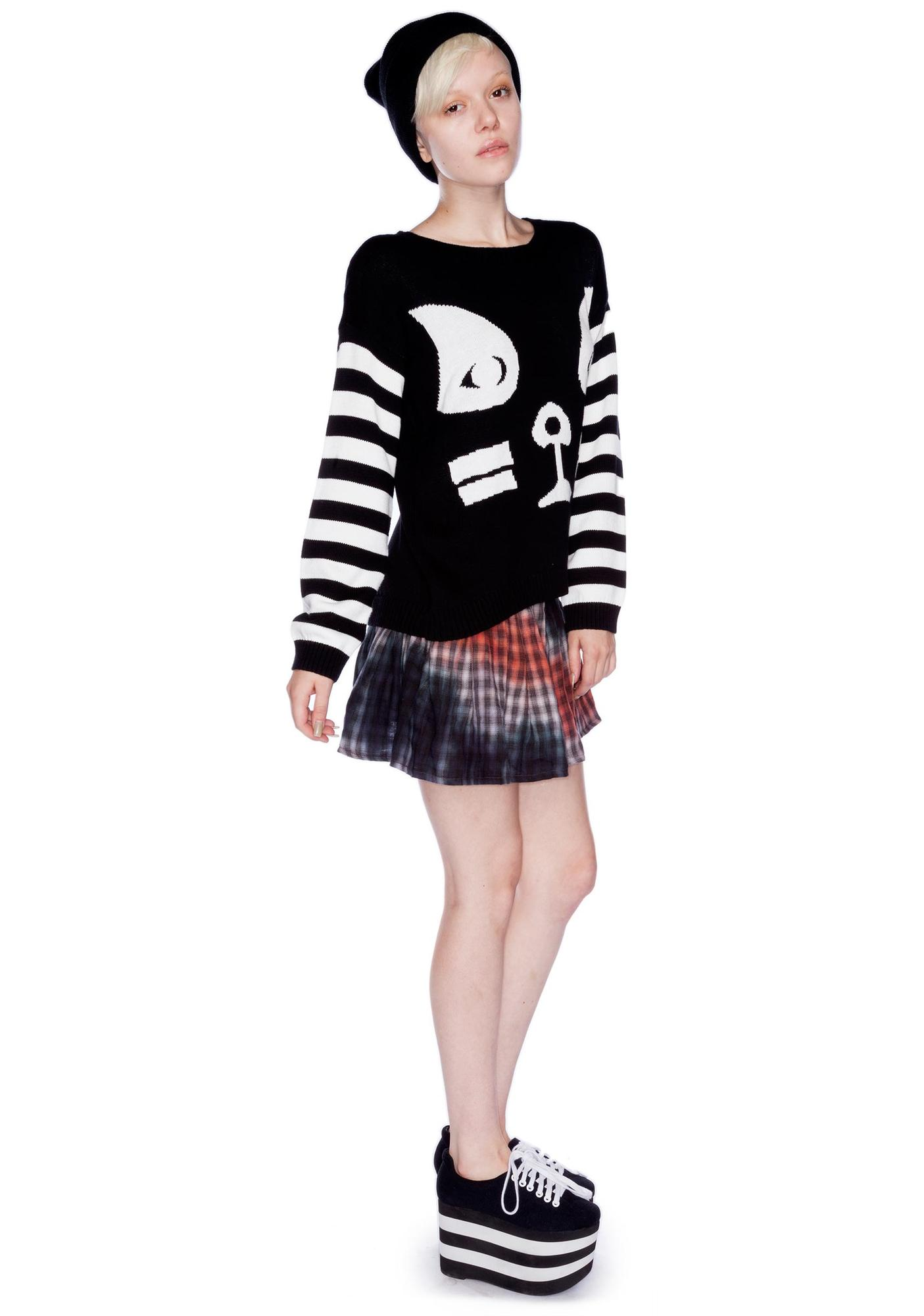 Mad Love Kissy Face Knit Jumper