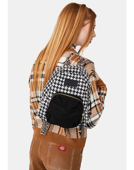 Half Pint Lux Houndstooth Backpack
