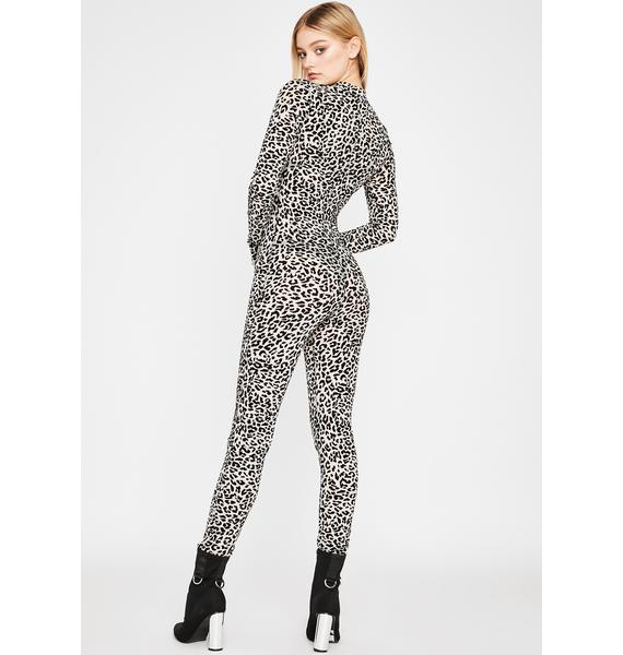 Wild Close Encounters Sheer Catsuit