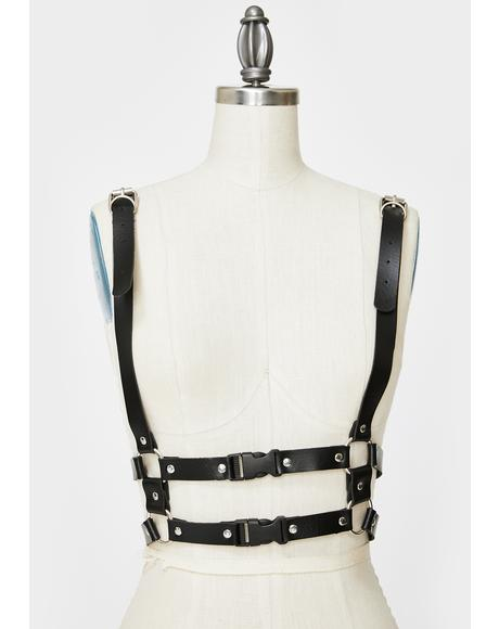 Head Sprung Body Harness