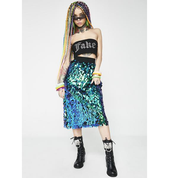Merbabe Sequin Skirt