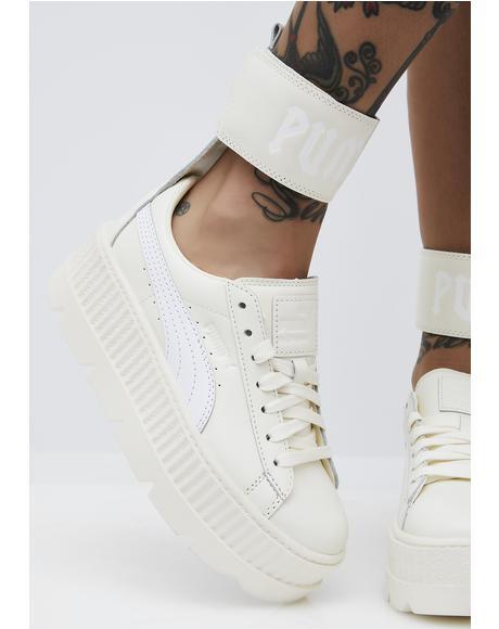 Vanilla FENTY PUMA by Rihanna Ankle Strap Sneaker