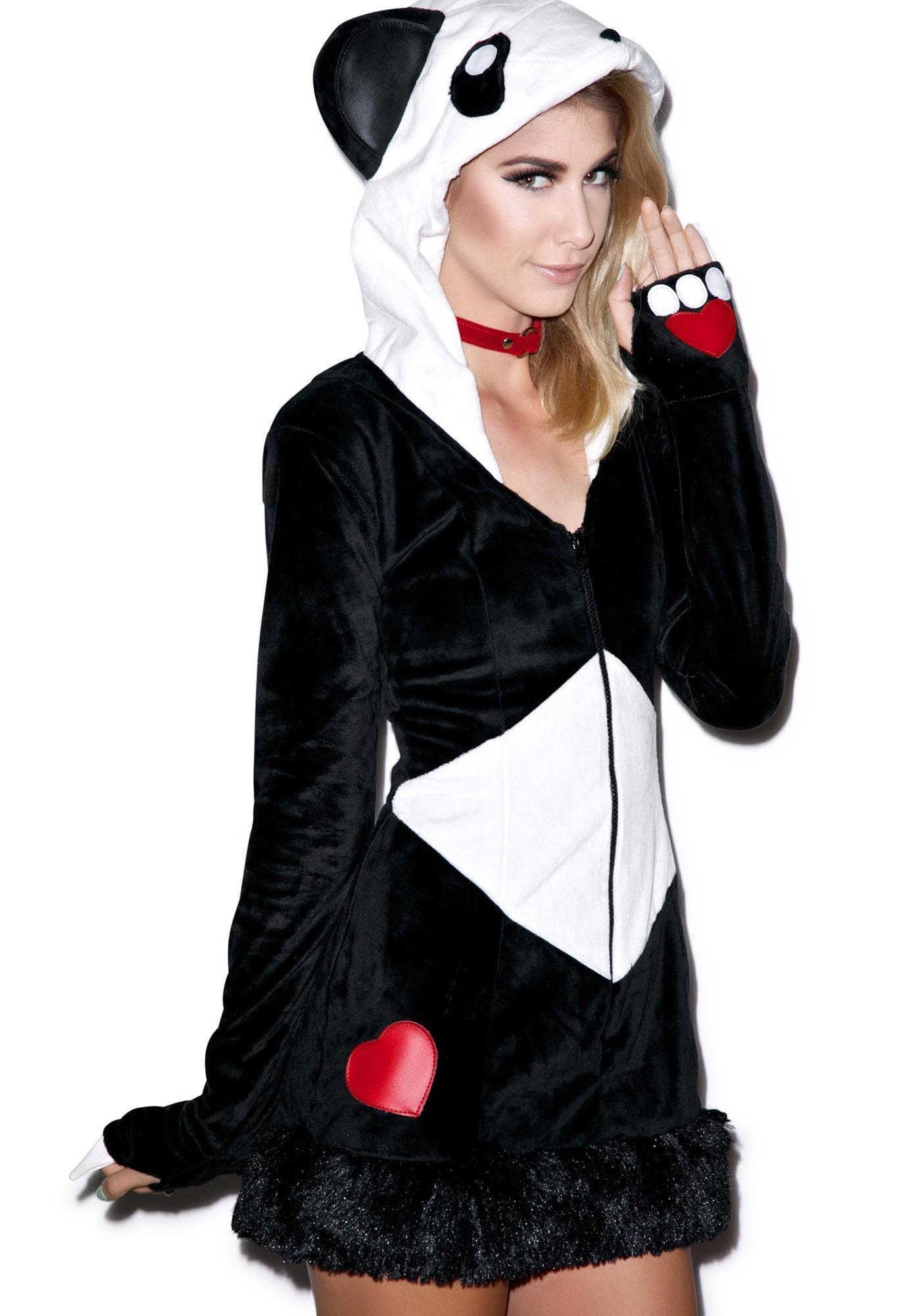 J Valentine QT Panda Jacket