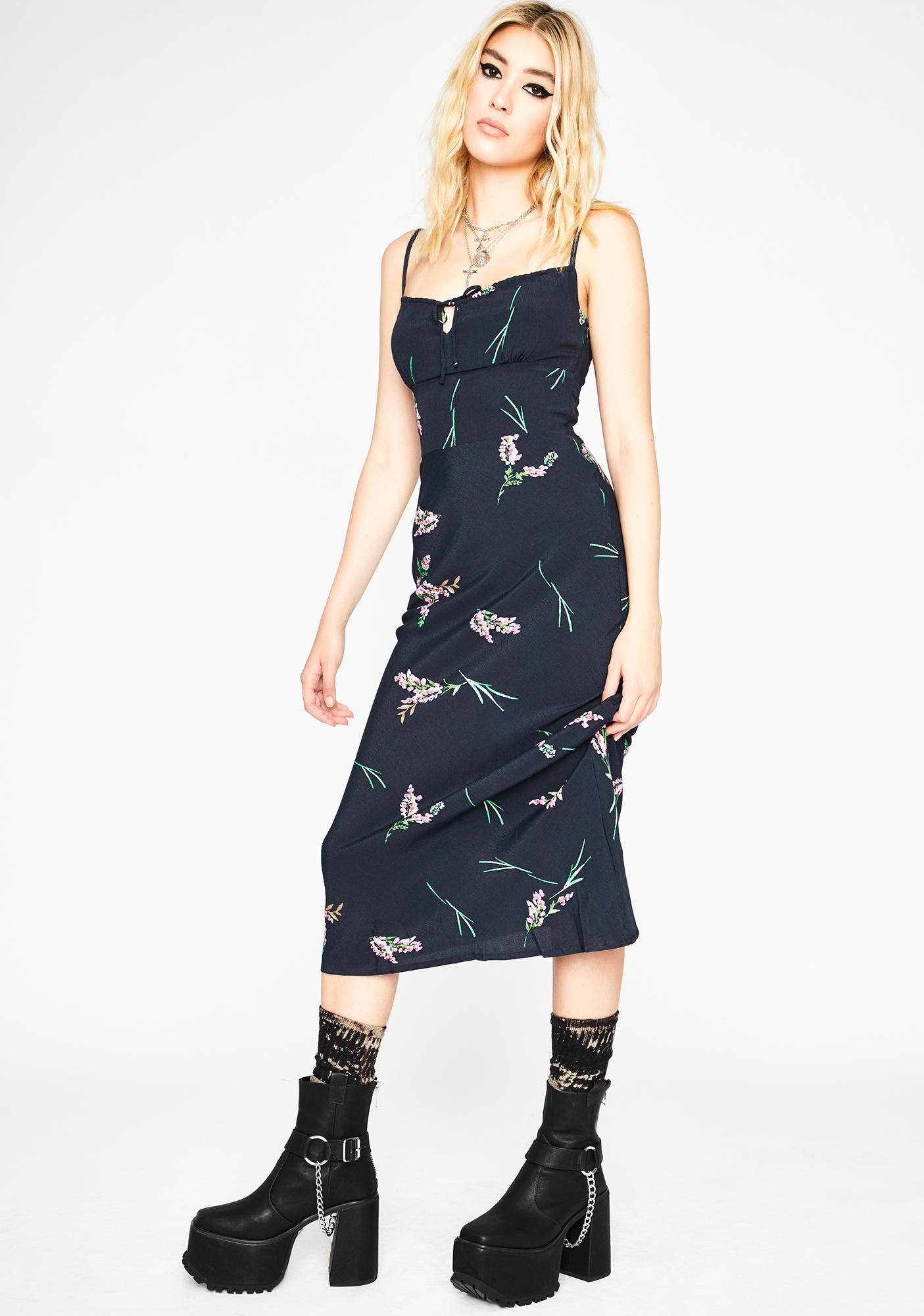 Pick Me Bae Floral Dress