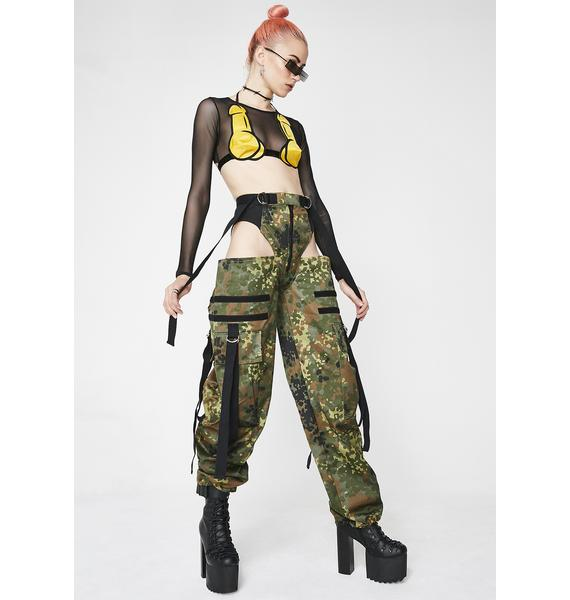 Namilia Camo Panty Trousers