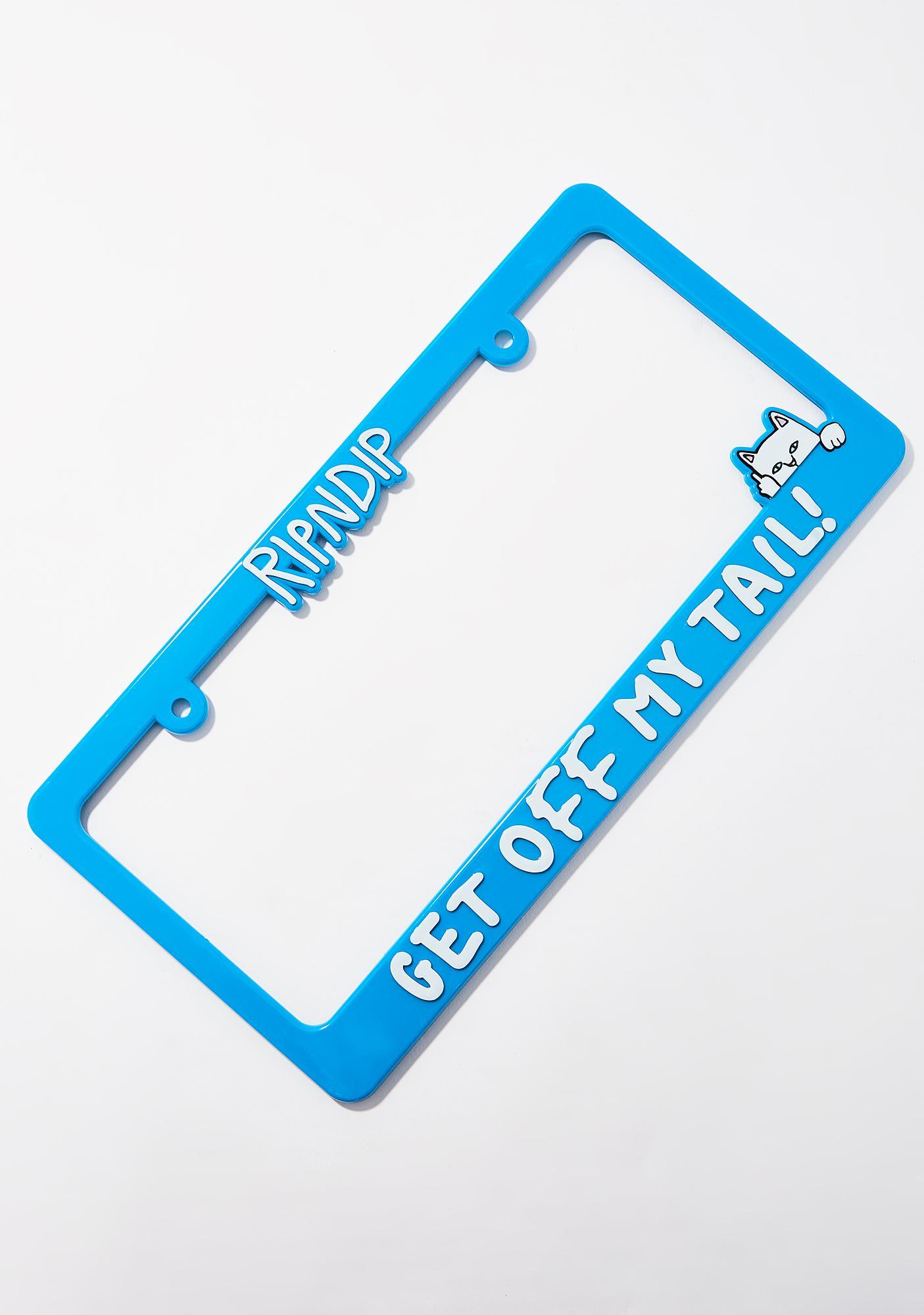 RIPNDIP Tailgater License Plate Frame