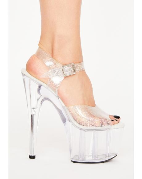 Glam Zilla Platform Heels
