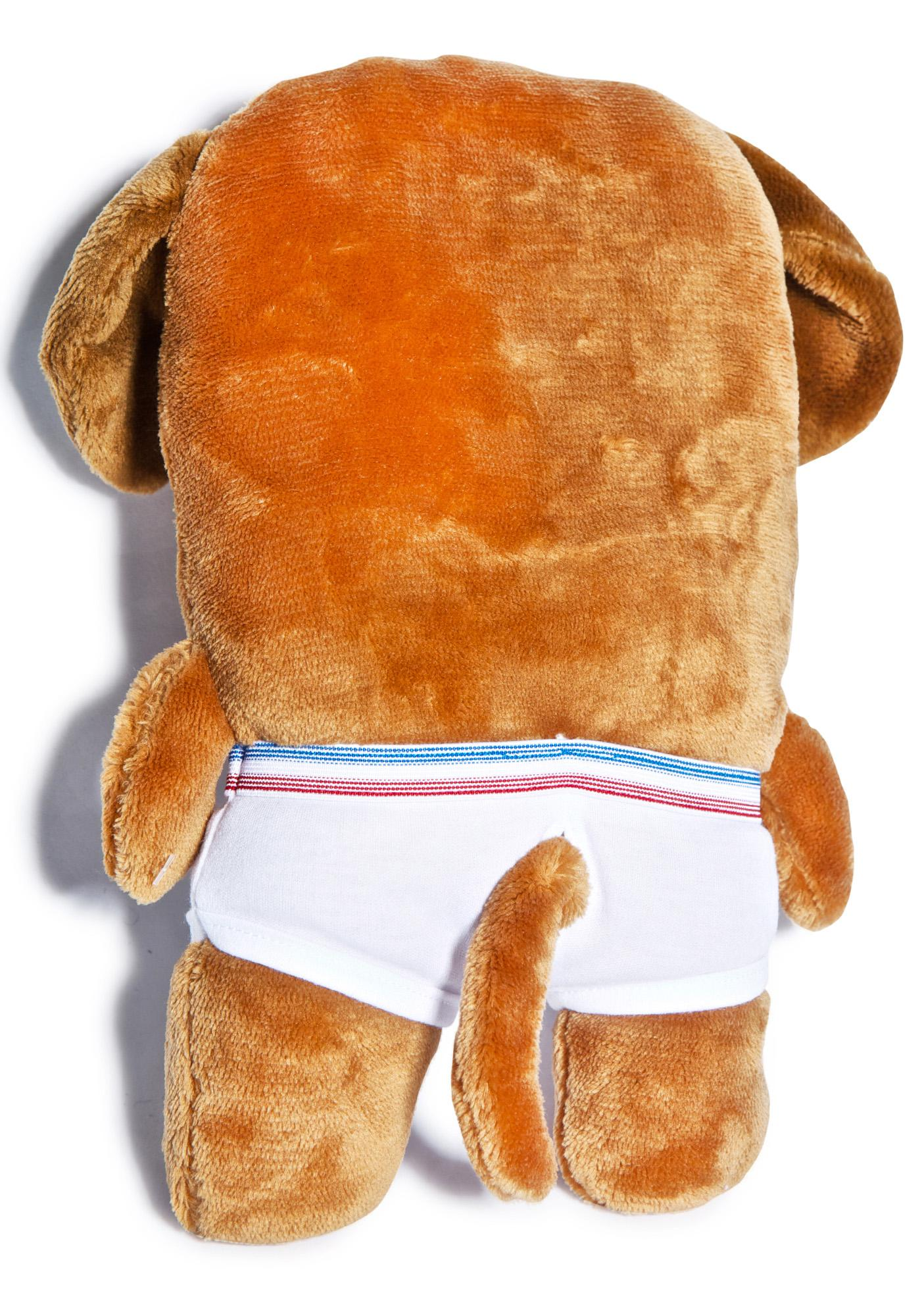 Bailey Dog in Undies Plush
