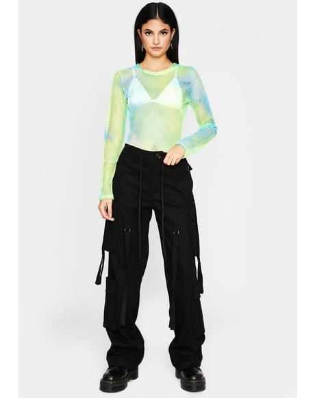 Mint Trippin' On You Tie Dye Bodysuit