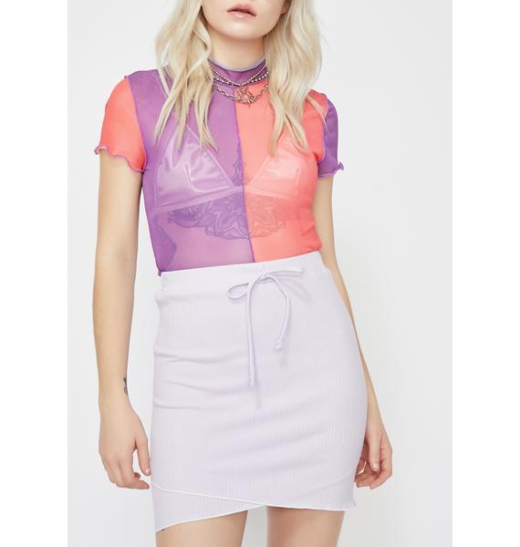 Good Memories Mini Skirt