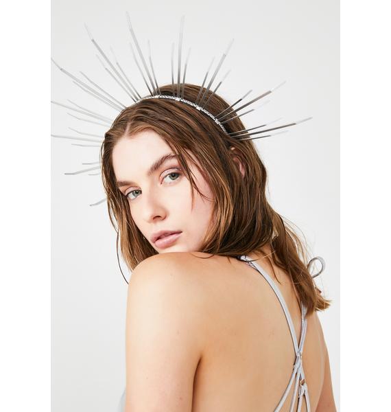 Apatico Angela Halo Crown Headpiece