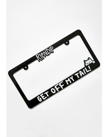 Midnight Tailgate License Plate Frame