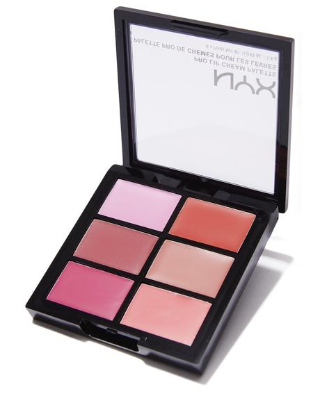The Pinks Pro Lip Cream Palette