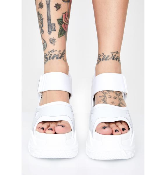 Anthony Wang Watch Me Glow Platform Sandals