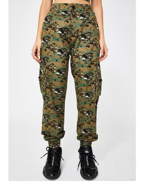 Camo Matira Cargo Pants