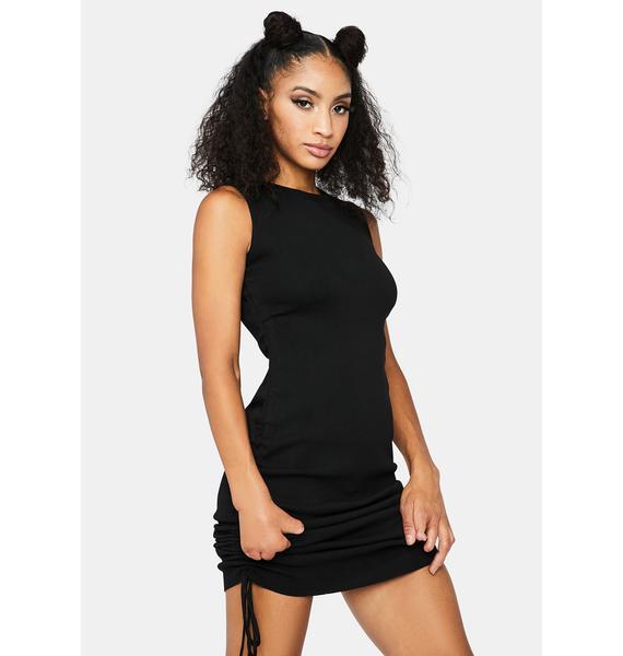 Dancing Queen Knit Mini Dress