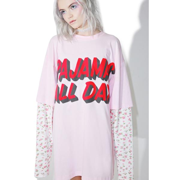 Little Sunny Bite Pajamas All Day Layered Tee