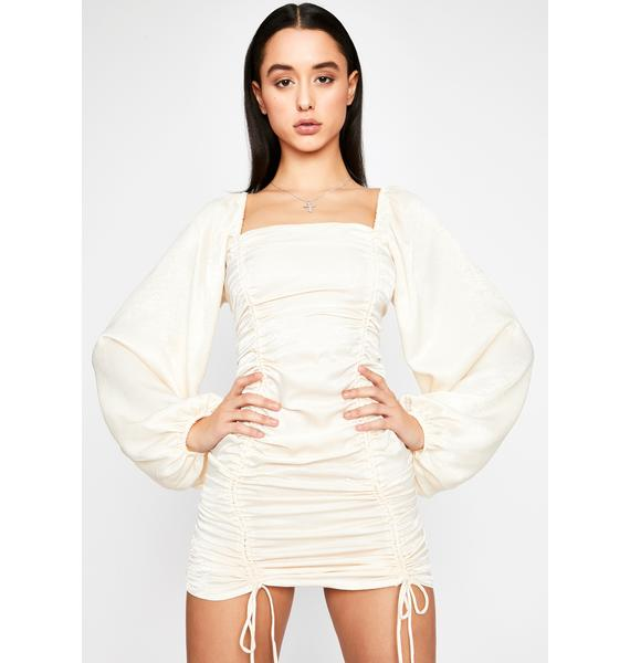 Purely All Of Me Satin Dress
