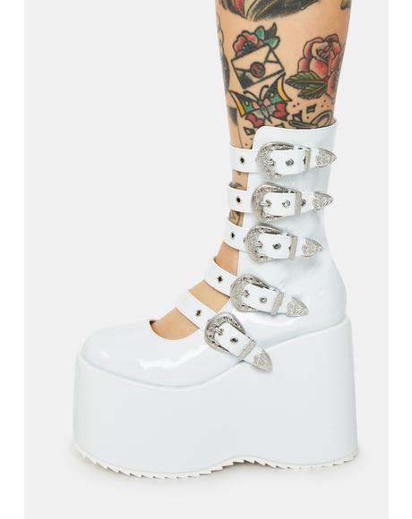 High N Mighty Buckle Strap Platforms