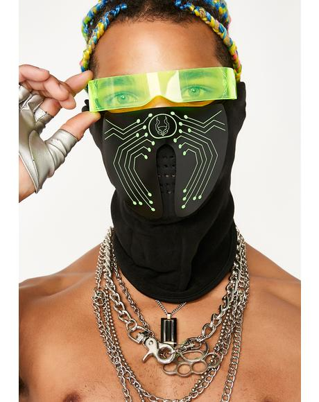 Microchip Light Up Mask