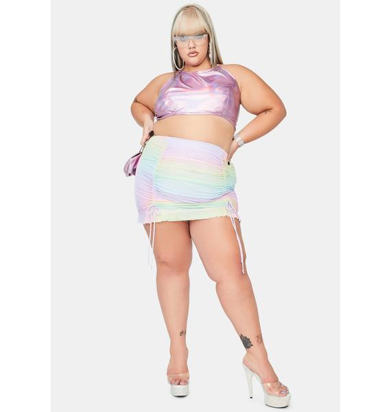 Candy Gotta Feel The Music Holographic Top