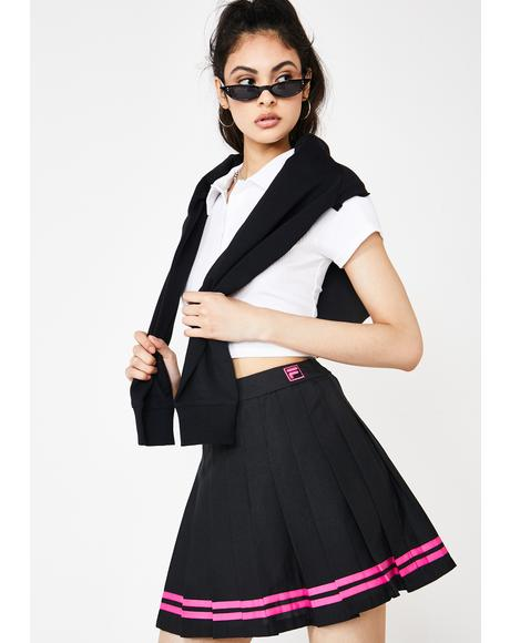 Palma Pleated Tennis Skirt