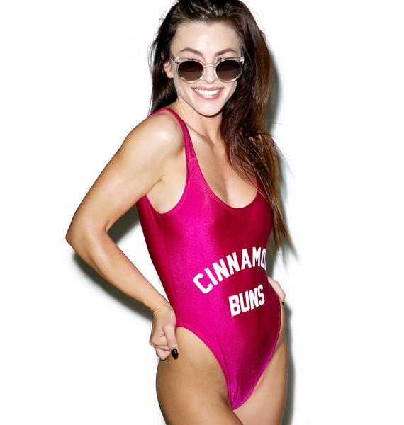 Private Party Cinnamon Buns Swimsuit