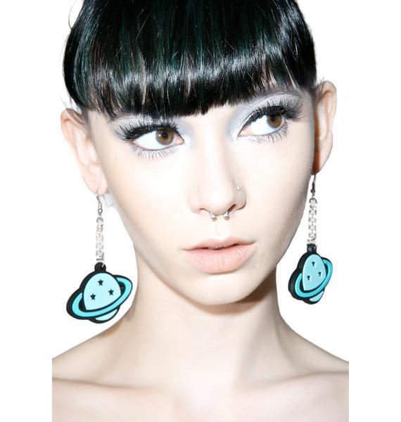 Witch Worldwide Planet Dangle Earrings