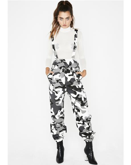 No Truce Camo Jumpsuit