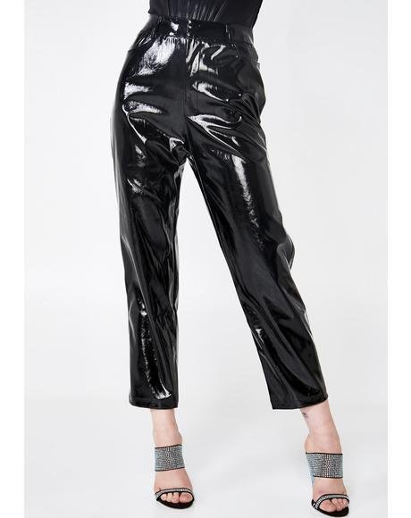 Marry The Night Vinyl Pants